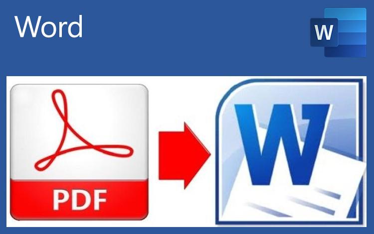 Mit Word PDFs bearbeiten